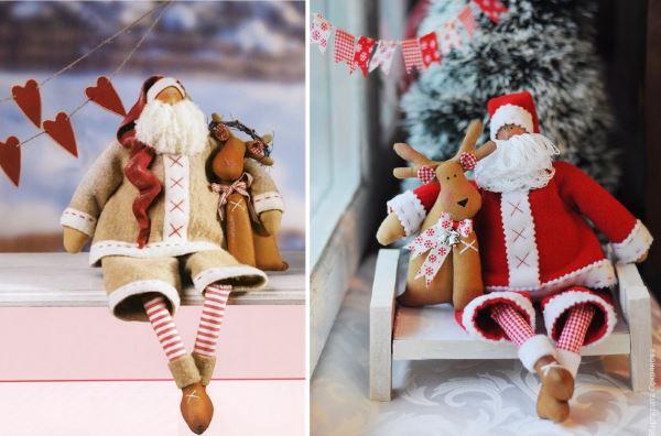 Новогодние куклы Тильда
