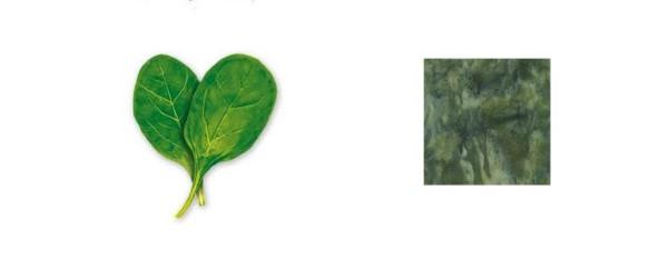 как покрасить ткань в зеленый цвет