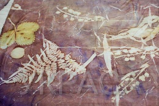 Как покрасить ткань натуральными красителями