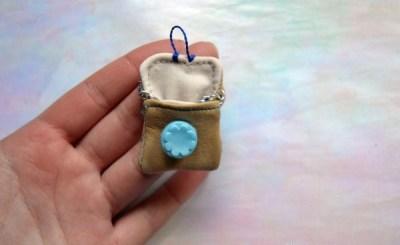 МК: кожаная сумочка для куклы, автор Оля Назарук