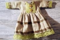 МК: простое платье для куклы