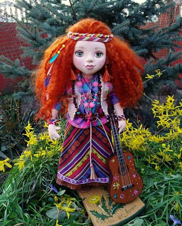 красивая кукла фенечки