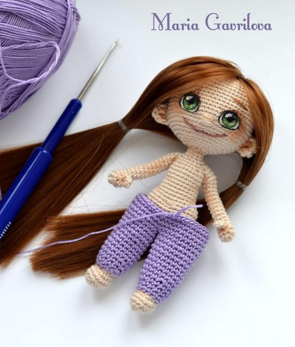 как связать куклу