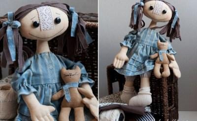 МК: примитивная кукла Елены Коган