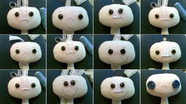 тряпичная примитивная кукла