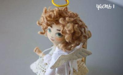 МК: Кукла ангел Амур