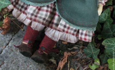 МК: башмачки для куклы