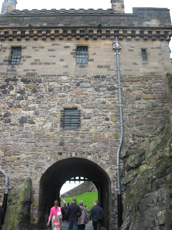 Portcullis Gate and the Argyle Tower
