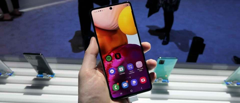 Display Samsung Galaxy A71