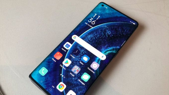 Display OPPO Find X2