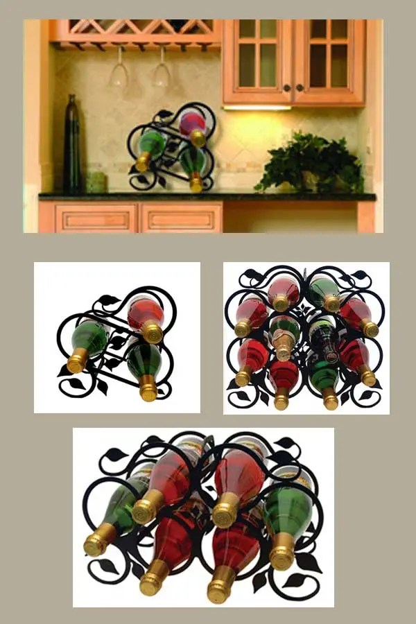 wine rack decor