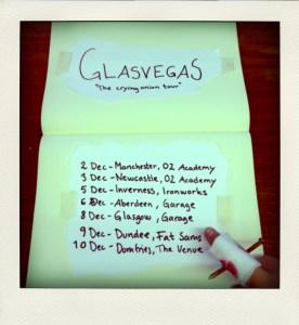 Glasvegas tour dates