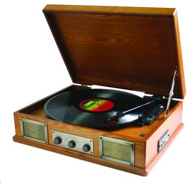 Steepletone USB vinyl player