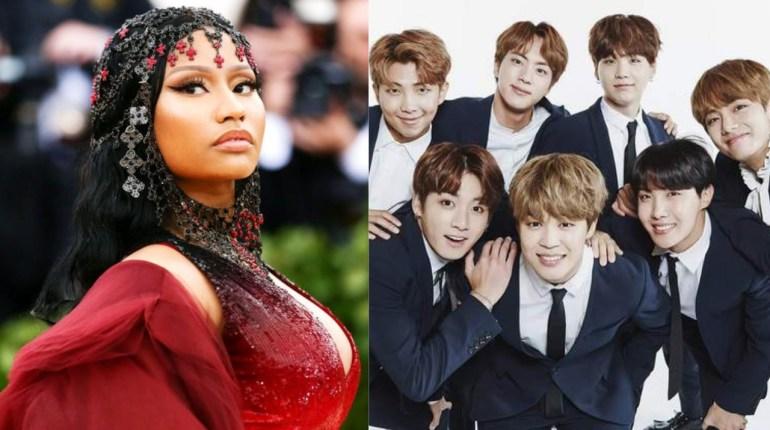BTS,Nicki-Minaj,Idol