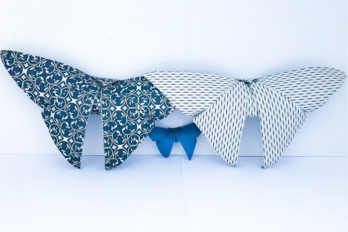 Оригинальные бабочки из бумаги