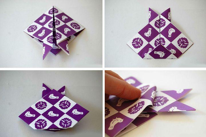 Phased Origami Rabbit құрастыру