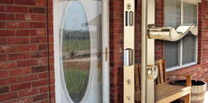 Storm Door Locks