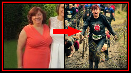 Sue Before and After Boot Camp Training