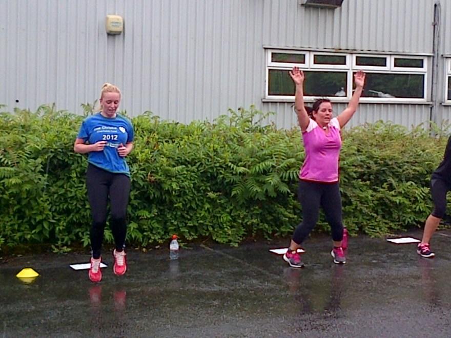 Outdoor Morning Fitness Training