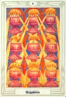 9 Кубков Таро Тота