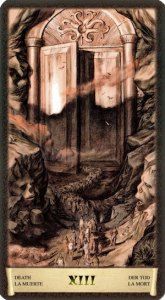 13 Смерть Таро Черный Гримуар