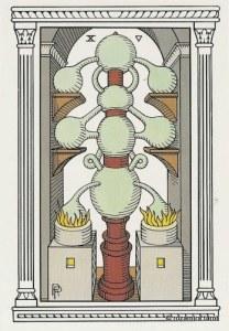 Алхимическое Таро 10 Сосудов