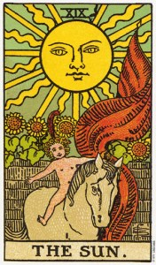 Трактовка Старшего Аркана Колесо Солнце