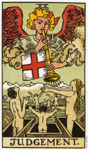 Трактовка Старшего Аркана Колесо Суд