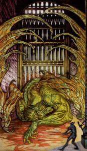 Таро Царство Фэнтези изображение 10 Мечей