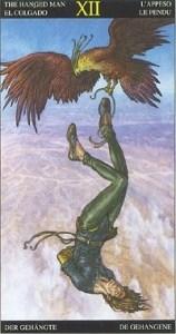 Таро Царство Фэнтези аркан 12 Повешенный