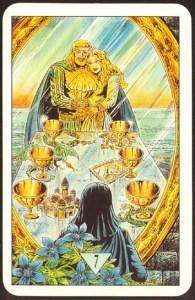 Таро Зеркало Судьбы изображение аркана 7 Кубков