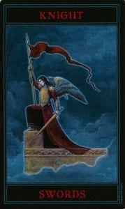 Таро Варго Изображение Аркана Рыцарь Мечей
