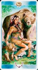 Мать медведица Таро Шаманов
