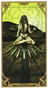7 мечей Таро Ночного Солнца