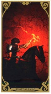 Рыцарь жезлов Таро Ночного Солнца