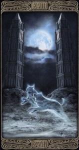 18-Луна-Таро-Призраков-Старший-Аркан