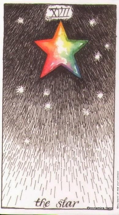 Старший Аркан Звезда Дикое Неизвестное Таро