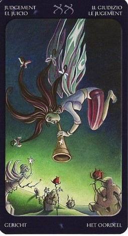 20 Суд (Judgement) Таро Семи Звезд (Mystical Manga Tarot)