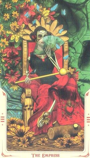 3 Императрица (The Empress) Таро святой смерти (Santa Muerte Tarot)