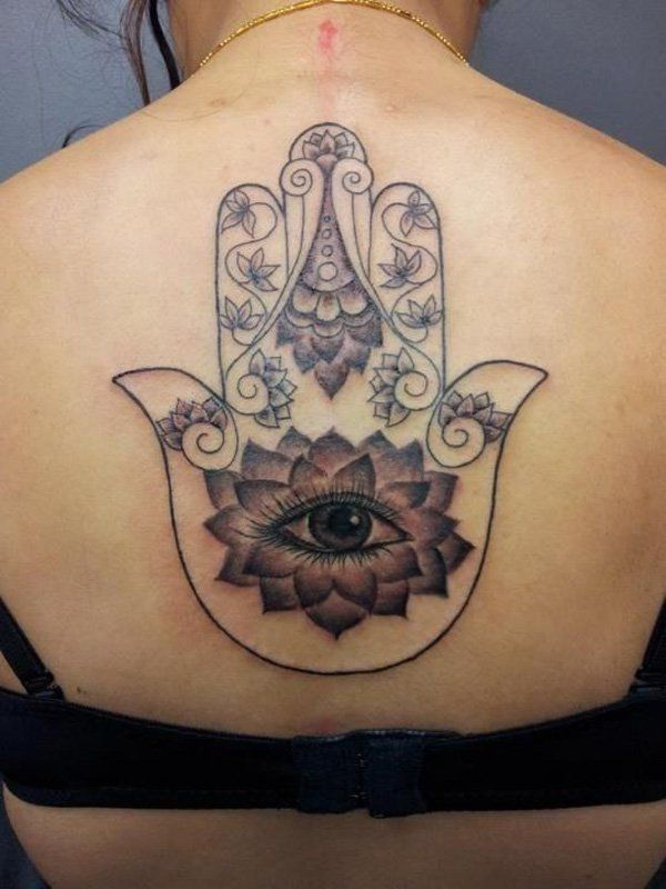 Buddhist Karma Symbol Tattoo