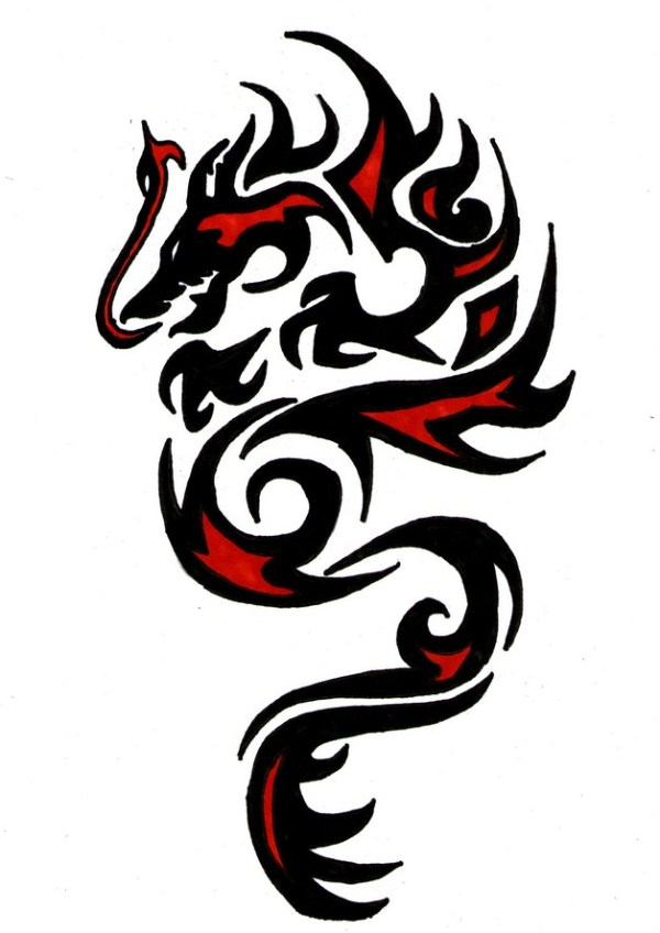 20 Tribal Tattoos Dragon Tiger Ideas And Designs