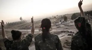 Female ISIS Fighters Peace