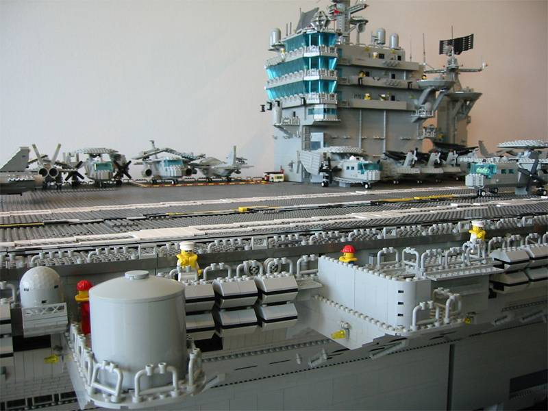 lego aircraft carrier amazing