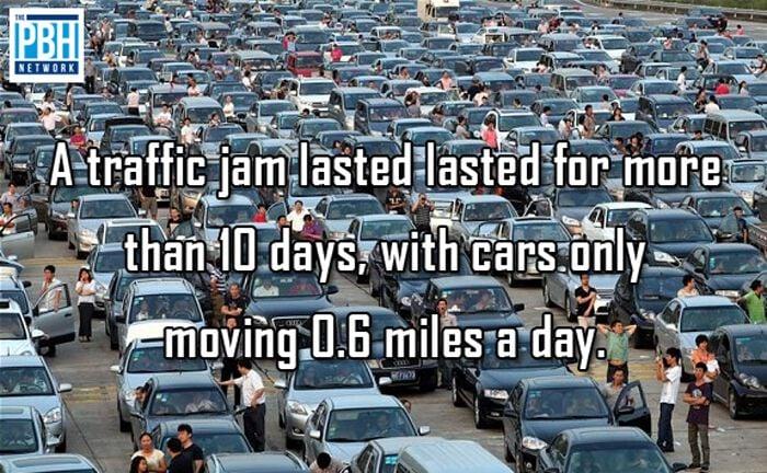 The World's Longest Traffic Jam