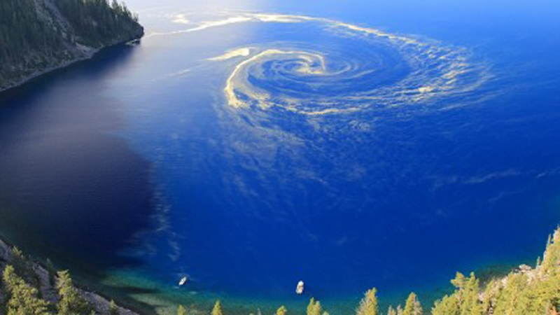 Amazing Natural Events Blue Maelstrom