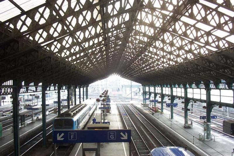 Las estaciones de tren Lyon Luz