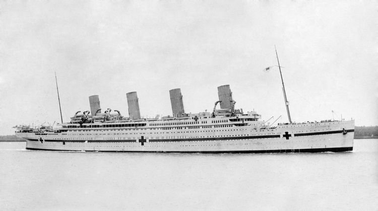 Sunken Ships Britannic New
