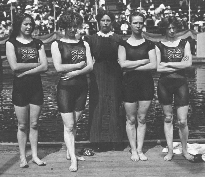 Squadra britannica Swim 1912