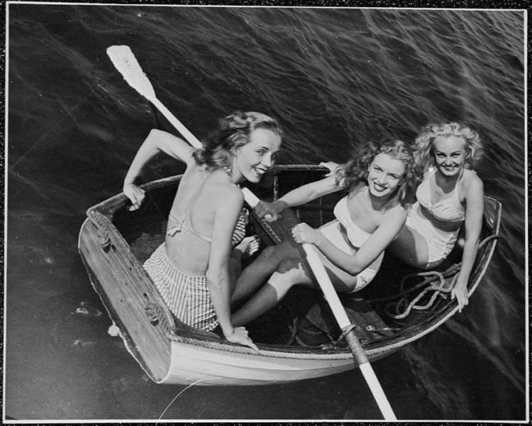 Norma Jeane Rowboat