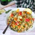 The best Greek-style quinoa salad   All that's Jas